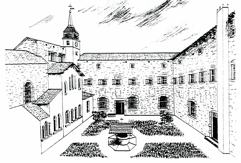 croquis monastère