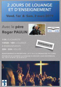 Louange et enseignement avec le Père Paulin