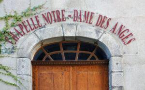 Consécration du nouvel autel et de la chapelle Notre Dame des Anges